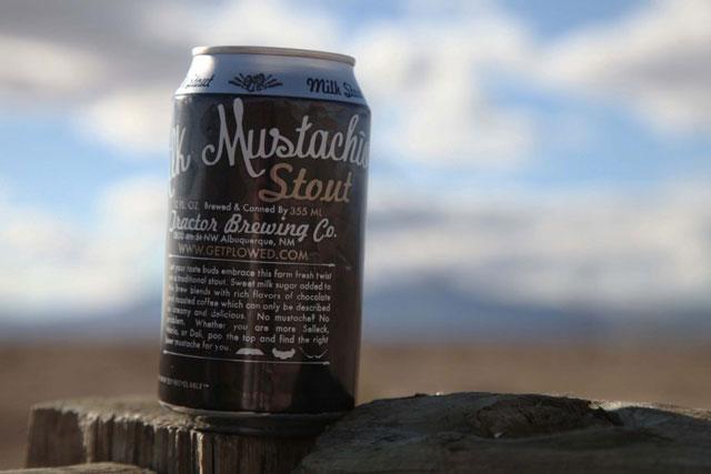 Mustachio Stout Can