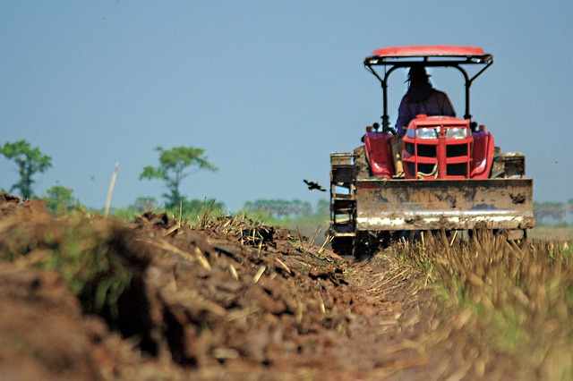 Farmer Tractor Sod Buster