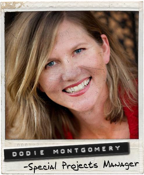 Dodie Montgomery Polaroid