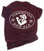 farmers tan Red Ale tee