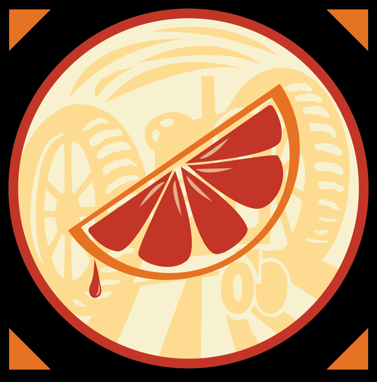 Tractor Berry Cider Icon