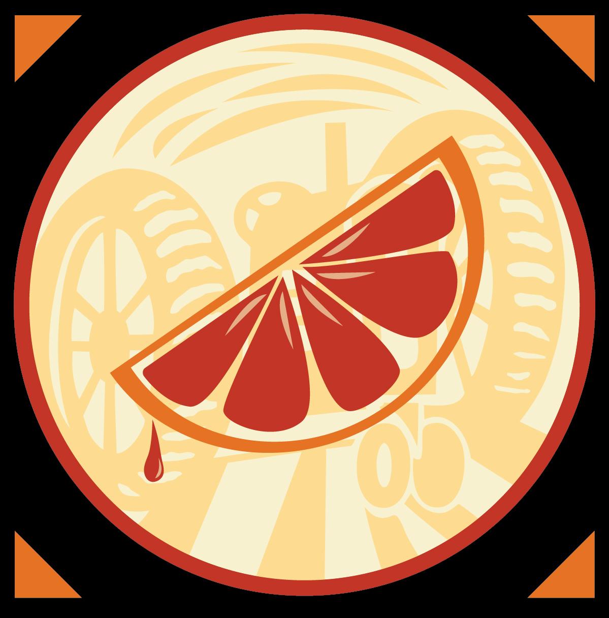 Blood Orange Cider Icon