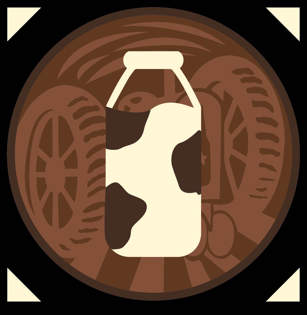 Chocolate Milk Stout Icon Cropped