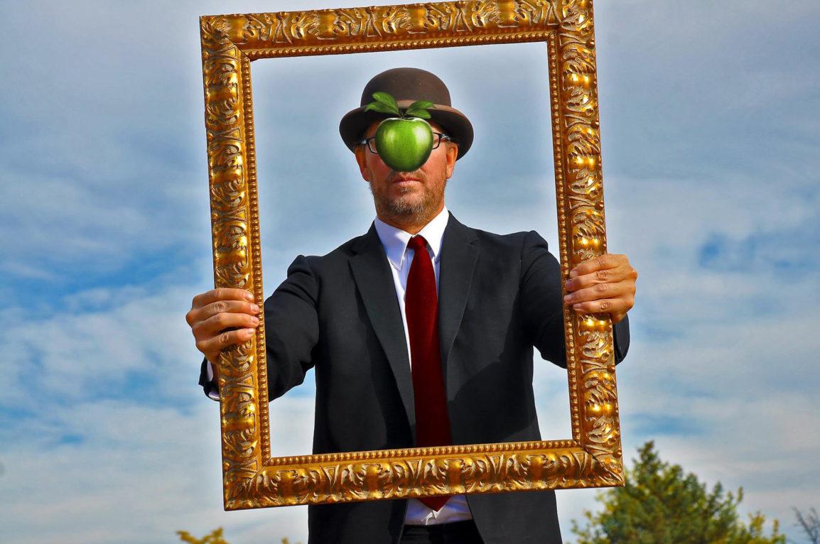lonnie with frame
