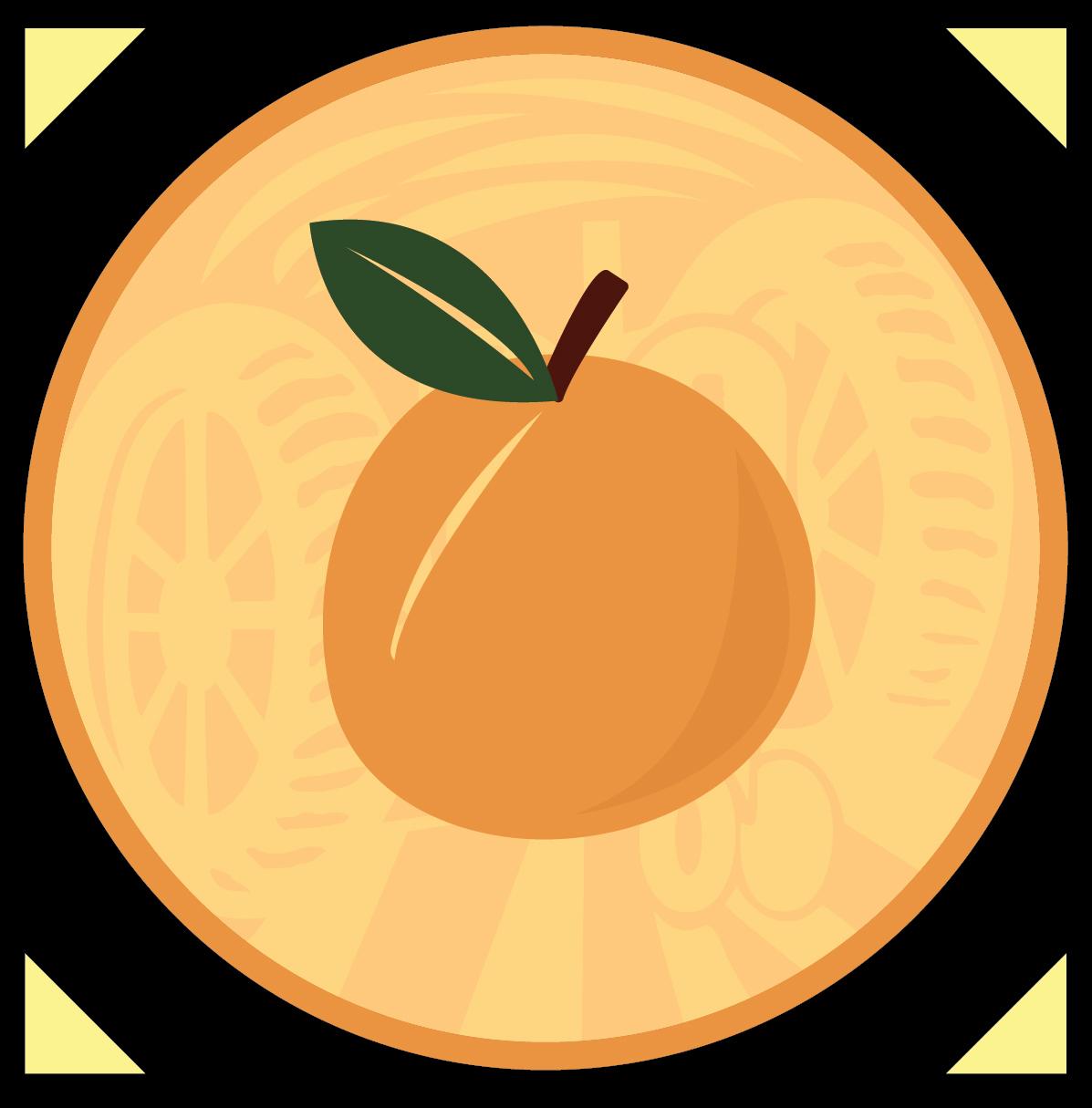 Apricot Wheat Icon