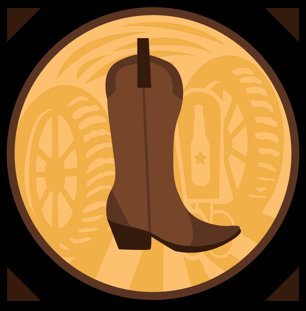 Boot Girl IPA Beer Icon