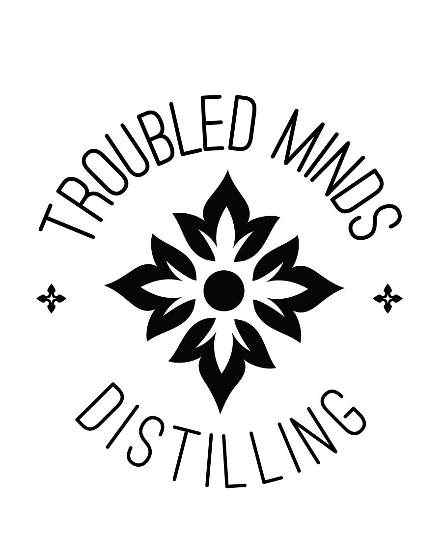 Troubled Minds Distilling Circle Logo