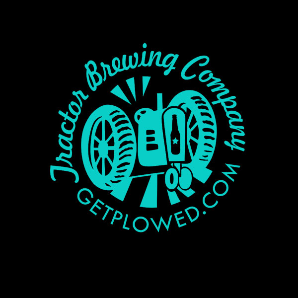 Turquoise Circle Tractor Logo
