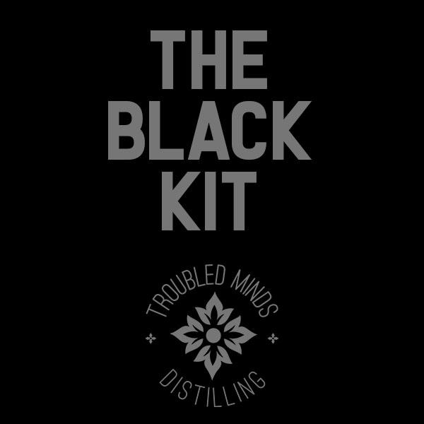 The Black Cocktail Kit