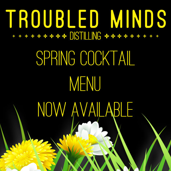 Spring cocktail menu now available
